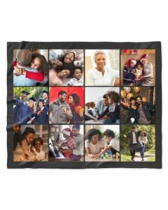 12 Grid Photo Blanket