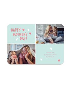 Hearts Happy Mother's Day Card