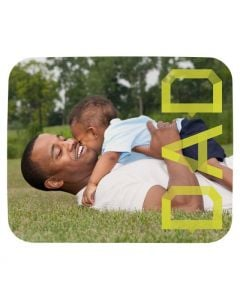 Neon Dad Mouse Pad