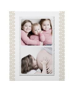 Old Photo Wrapped Canvas Print