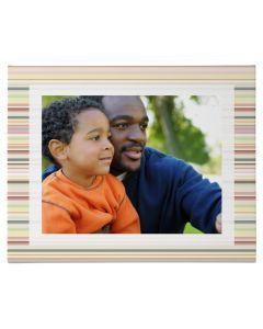 Strips Wrapped Canvas Print