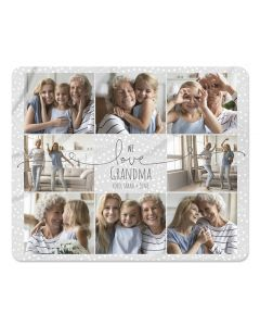 We Love You Photo Blanket