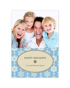 Classic Snowflakes Card