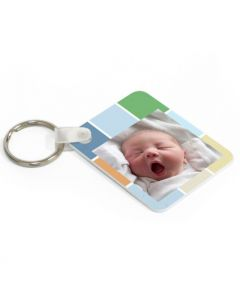 Soft Graphics Keytag