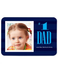 First Rate Dad 3.5X5 Magnet