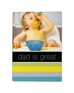 Dad is Great Photo Panel