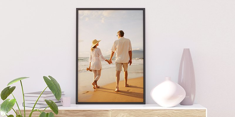 personalized framed poster prints