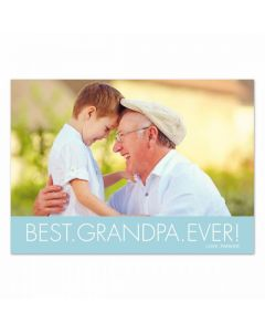 Best Grandpa Card