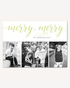 Merry Merry 5x7 Card