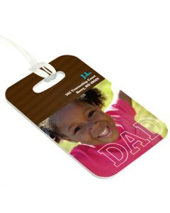 Dad's Tie Luggage Tag