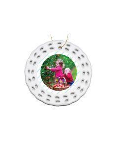 Joy to the World Openwork Ornament