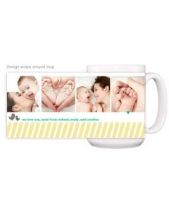 Mom Diagonal Mug