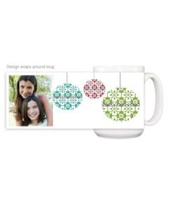 Joyful Photo Ornament Mug