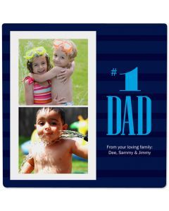 First Rate Dad Photo Panel