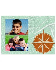 North To East 252 Piece Puzzle