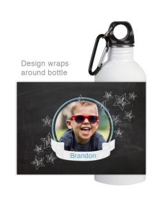 Chalkboard Water Bottle